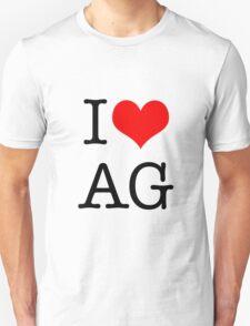 I <3 AG Unisex T-Shirt