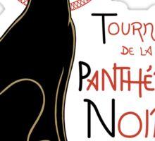 Panthère Noir Sticker