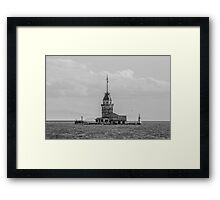 Maiden Tower Framed Print