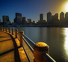Southbank Sunrise by tracielouise