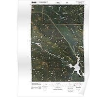 USGS Topo Map Washington State WA Eagle Gorge 20110428 TM Poster