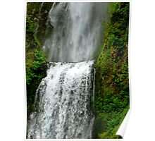 The tallest waterfall in the State of Oregon Poster