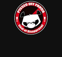 Pissed OFF Panda Seal of Disapproval Unisex T-Shirt