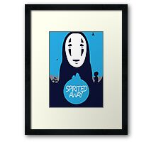 Minimalist Spirited Away Framed Print