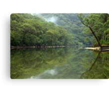 Tranquil  reflection Canvas Print
