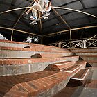 Phillip Marshall, fakie heelflip. by Luke Carl Thompson