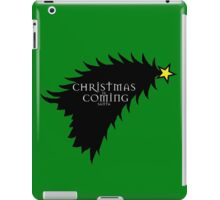 Christmas is comming iPad Case/Skin