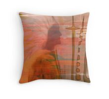 GERONIMO  NATIVE AMERICAN CHIEF...BROKEN PROMISES Throw Pillow