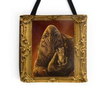 Elcor Portrait with Kitten Tote Bag