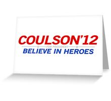 Coulson 2012 Greeting Card