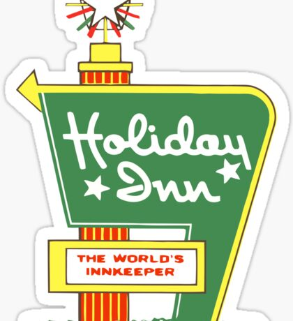 HOLIDAY INN 2 Sticker