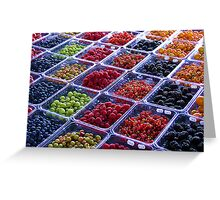 Summer Berries Greeting Card