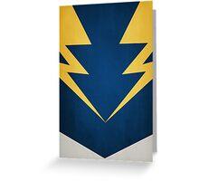 Lightning Lad Greeting Card