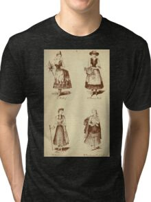 Fancy dresses described or What to wear at fancy balls by Ardern Holt 122 Folly Flower Girl Footwoman Newhaven Fish Tri-blend T-Shirt