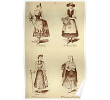 Fancy dresses described or What to wear at fancy balls by Ardern Holt 122 Folly Flower Girl Footwoman Newhaven Fish Poster