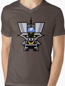 Mekkachibi Black Mazinger Mens V-Neck T-Shirt