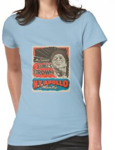 JAMES BROWN Womens Fitted T-Shirt