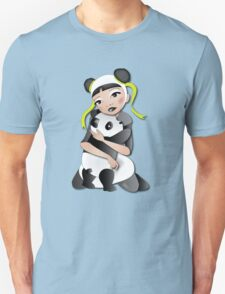 Twisted - Wild Tales: Funi and the Panda Unisex T-Shirt