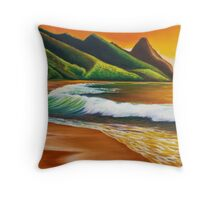 Land of Lucidity - greeting card Throw Pillow