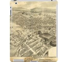 Panoramic Maps Providence Pennsylvania 1892 iPad Case/Skin