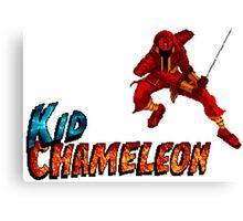 Kid Chameleon - SEGA Genesis Title Screen Canvas Print