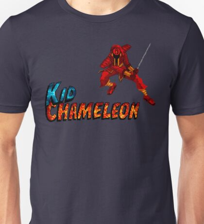 Kid Chameleon - SEGA Genesis Title Screen Unisex T-Shirt