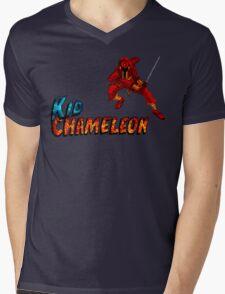 Kid Chameleon Mens V-Neck T-Shirt