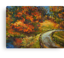 Mt Lofty Botanic Gardens Canvas Print