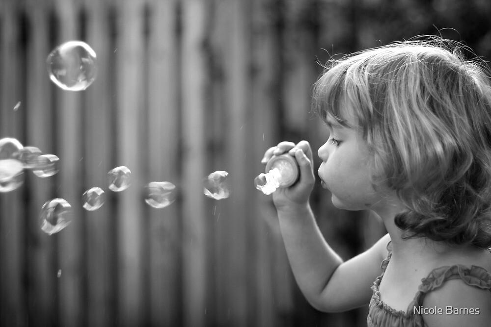 Blowing Bubbles  by Nicole Barnes