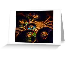 Butterfly Spiral Greeting Card