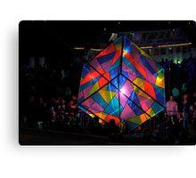 Colourful Cube Canvas Print