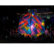 Colourful Cube Photographic Print