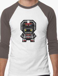 Mekkachibi Black Shaider Men's Baseball ¾ T-Shirt