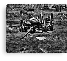 Vehicle Graveyard Canvas Print
