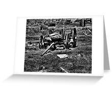 Vehicle Graveyard Greeting Card
