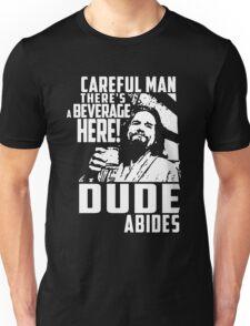 dude abides big lebowski  Unisex T-Shirt