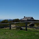 Craigs Hut, Mt. Stirling, Alpine National Park, Victoria by Lisa Evans