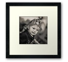 Littlest Chief Framed Print