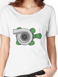 Turbo Turtle Women's Relaxed Fit T-Shirt