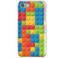Colourful Lego Bricks  iPhone Case/Skin