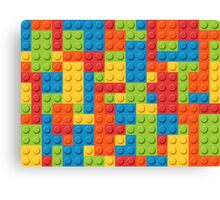Colourful Lego Bricks  Canvas Print