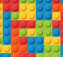 Colourful Lego Bricks  Sticker