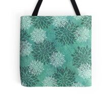 Frozen Flowers Tote Bag