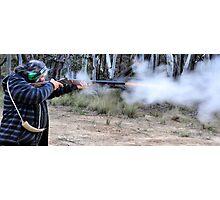 Muzzle Loading Fun - Hill Ends NSW Australia Photographic Print