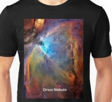 Orion Nebula Space Galaxy  Unisex T-Shirt