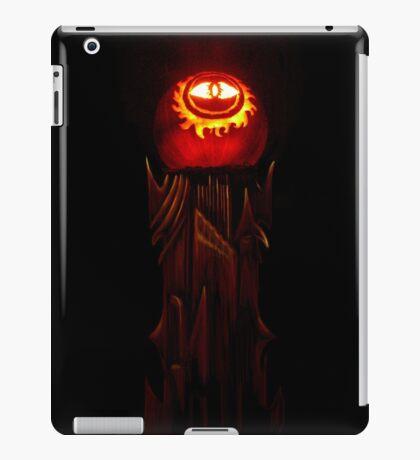 The Jack O'Lantern of Barad-dûr iPad Case/Skin