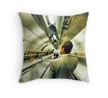 Going underground, I'm going underground! Throw Pillow