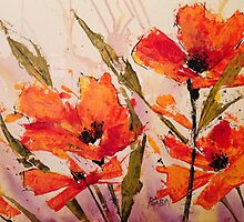 Poppies by Patricia Sabin