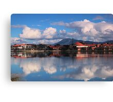 Winters Day Lake Tuggeranong Canberra  no 5 Canvas Print