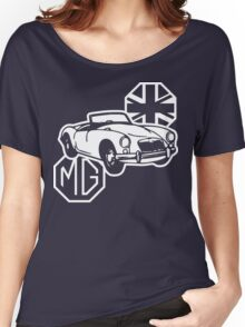 MG MGA Classic British Sports Car Women's Relaxed Fit T-Shirt
